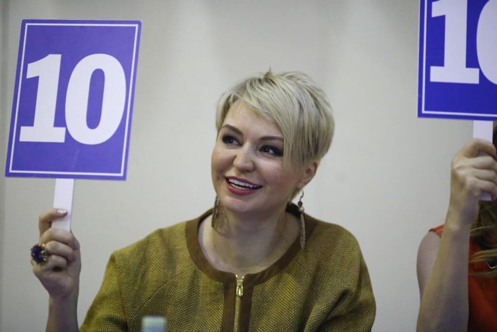 Катя Лель на турнире